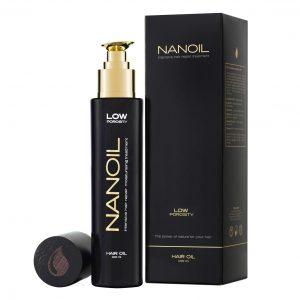 olejek do włosów Nanoil - jak działa